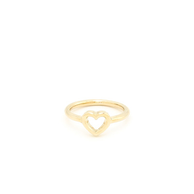 Little love accent ring - gold
