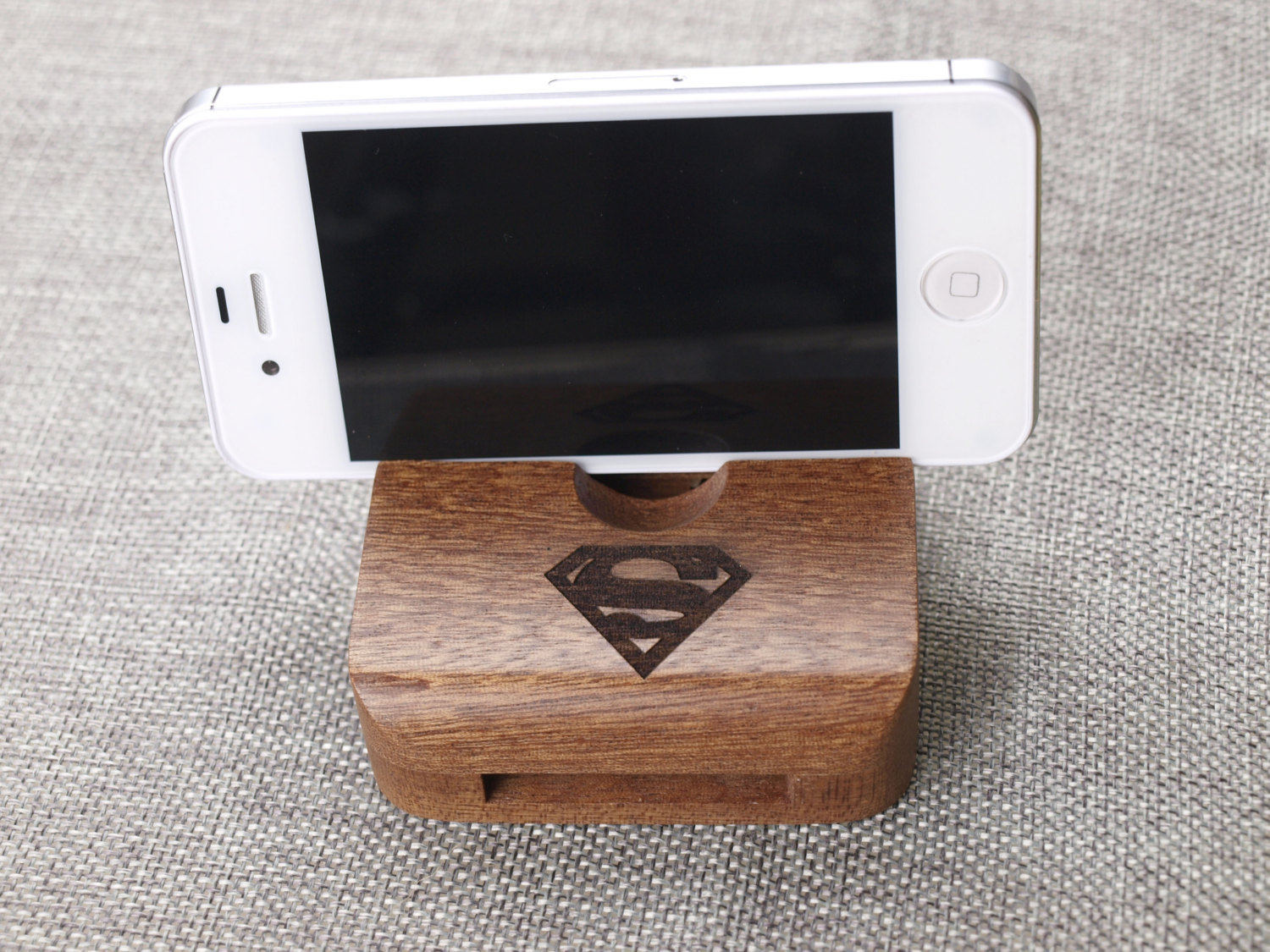 Custom wood iphone 6 stand,Wood Stand Dock,iPhone Station,Wood ...