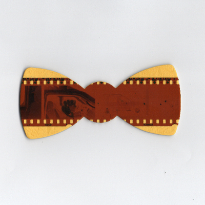 Film negative bow tie  ltd edition
