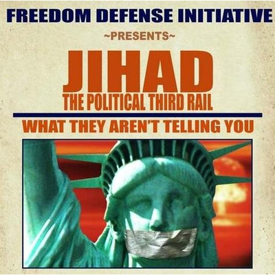 Dvd: jihad: the political third rail - what they are not telling you