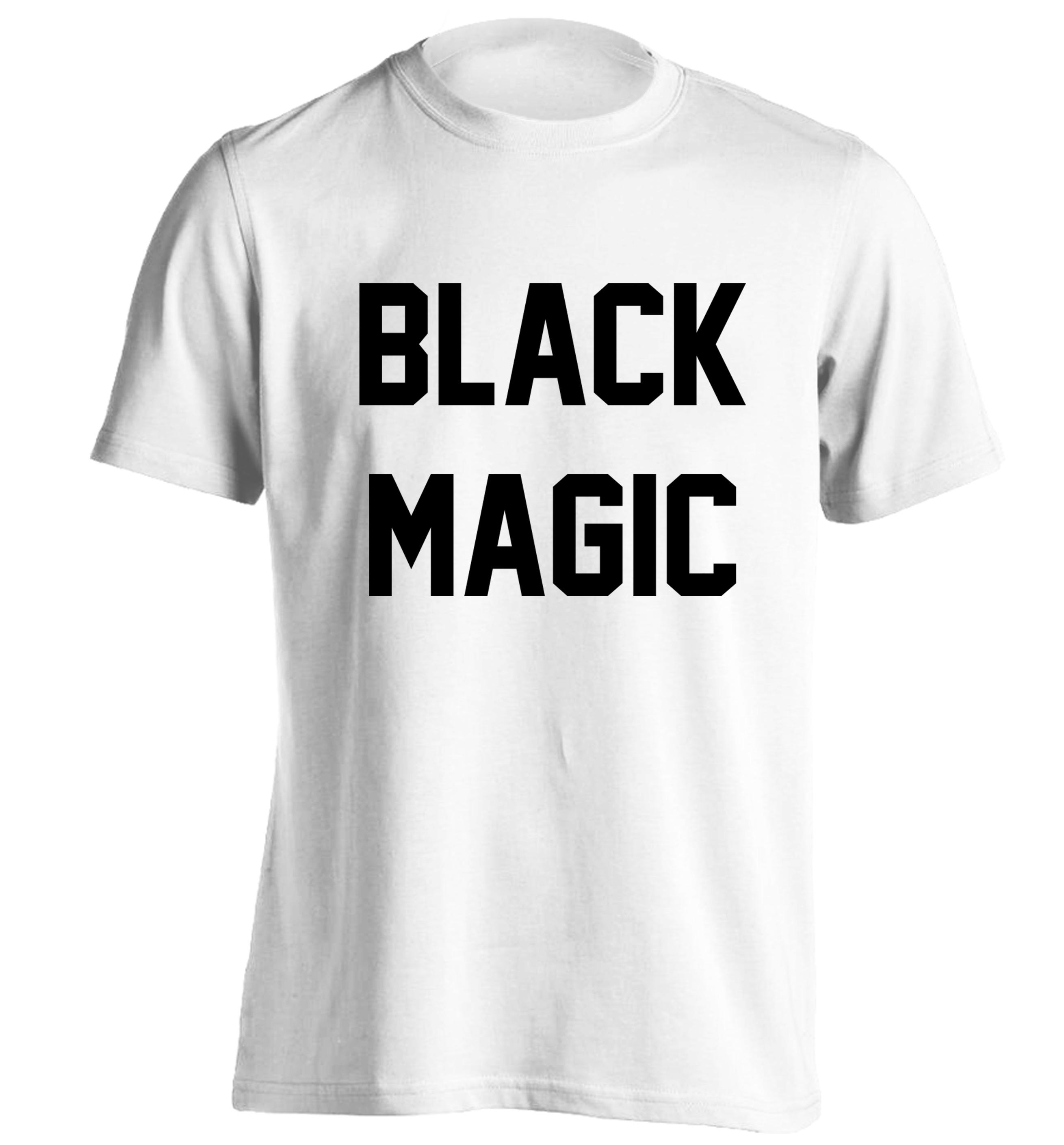 Black t shirt grunge -  Black Magic Tshirt White Hipster Tumblr Instagram Weheartit Music Lyrics Pop Little Mixer Jesy Witch Halloween
