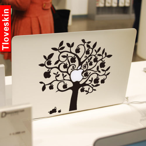 Tloveskin The Apple TreeDecal For Macbook Pro Air Or Ipad - Macbook air decals