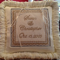 Ring Bearer Pillow Canvas
