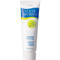Foot Works Therapeutic Cracked Heel Relief Cream Bonus Size