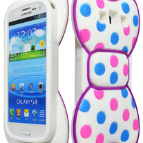 Girly 3D Bow Case (Samsung Galaxy S3)