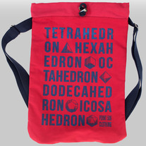 Platonic Solids Type Bag medium photo