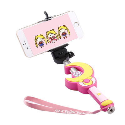 sailor moon selfie stick on storenvy. Black Bedroom Furniture Sets. Home Design Ideas