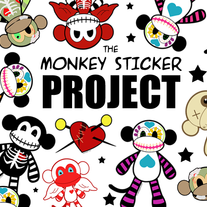 The Monkey Sticker Project