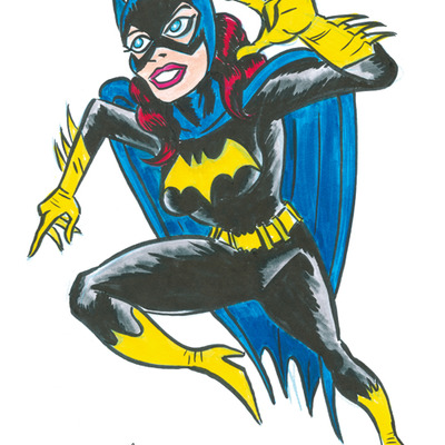 Original artwork- batgirl