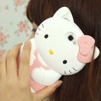 New Cute Cat Samsung Galaxy Note 2 N7100 Phone Case
