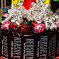 Candy Cake with Hersheys