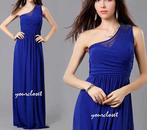 Design   Prom Dress Online on Beading One Shoulder Prom Dress    Online Store Powered By Storenvy
