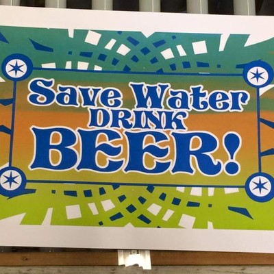"2015 tripp ""save water, drink beer"""