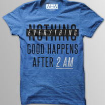 Everything Good - Men's Vintage Blue Tri-Blend T-Shirt