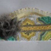 """Shy Shadows"" Bebe headband"