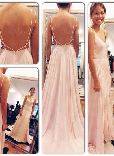Cute Pink Prom Dress