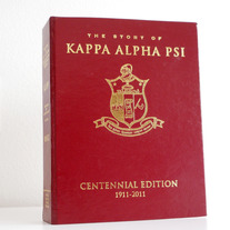 Centennial History Book Kappa Jewelry Box