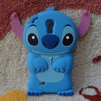 New Chic Cute Blue Monster Samsung Galaxy S4 i9500