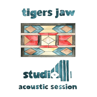 Tigers jaw - studio 4 acoustic session lp - 1st press oop