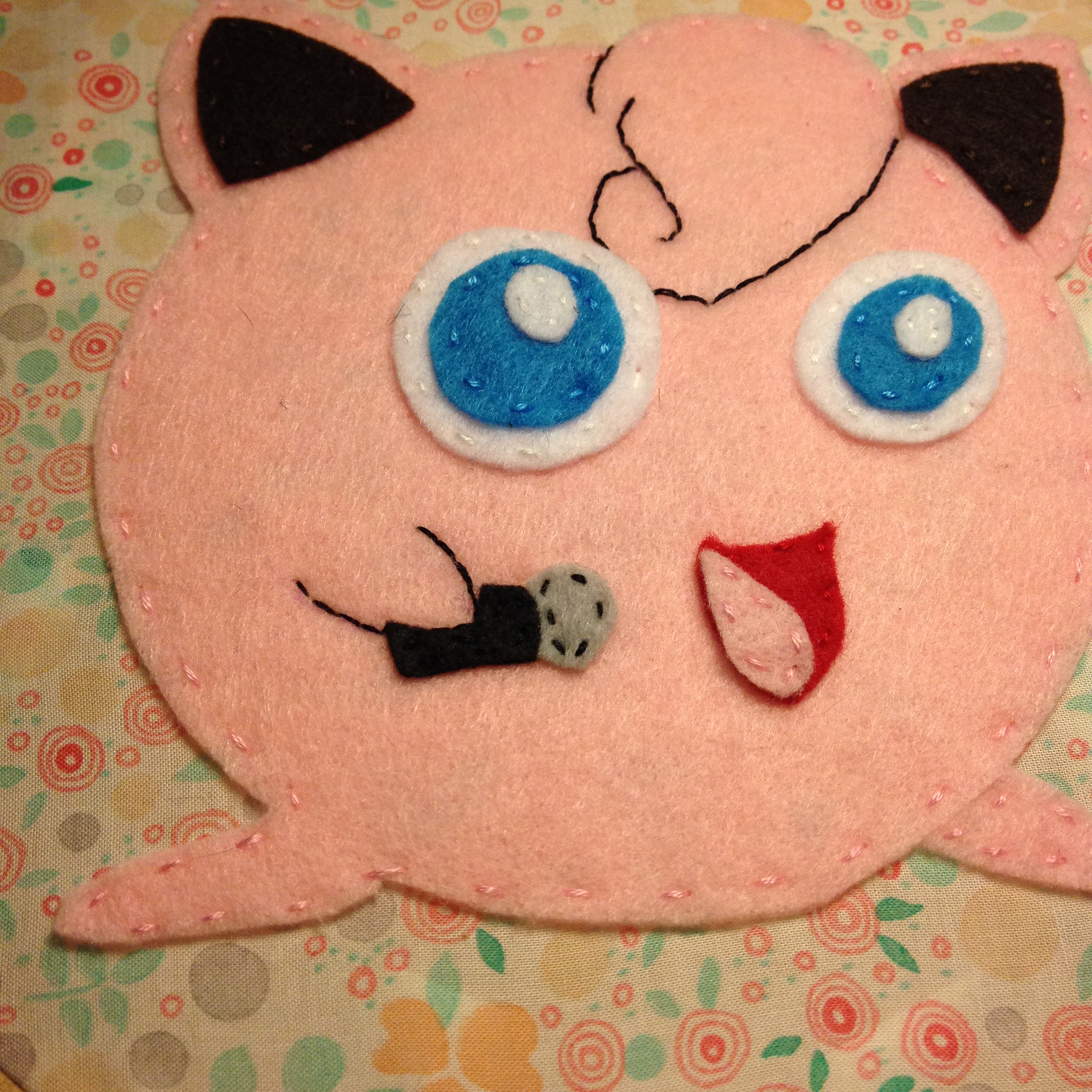 Jigglypuff Embroidery Hoop  Stash Universe  Online Store
