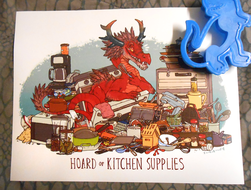 Hoard Of Kitchen Supplies Print Iguanamouth Online Store Powered By Storenvy