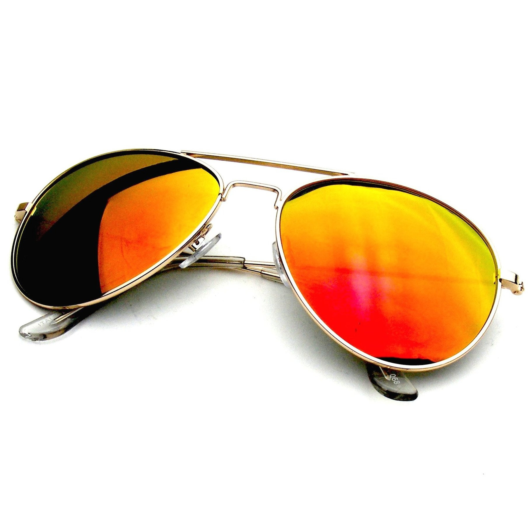 Revo mirrored lens sunglasses collection. Revo reflective color lenses allow dynamic color changing depending on angle and light.