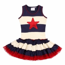 Ooh! La! La! Couture 4th of July Dress