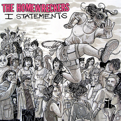 "Nnr 008 - the homewreckers ""i statements"" lp"