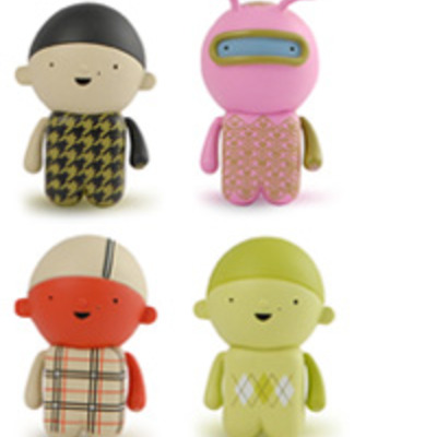 Tinpo fashion victims set of 4 by unkl