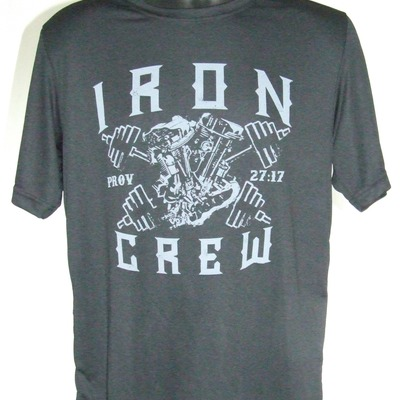 Iron crew performance workout shirt