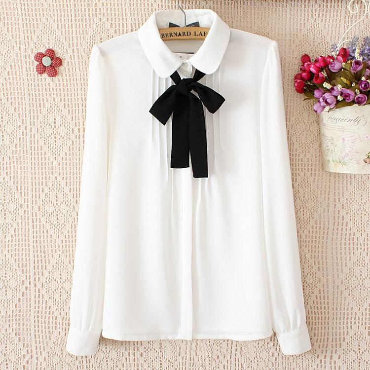 Блузки 2015 Белые