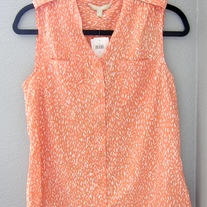 Banana Republic Coral Blouse - NWT