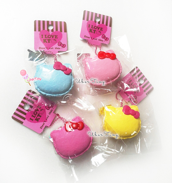 Squishy Collection Hello Kitty : Hello Kitty Macaron Squishy ? Uber Tiny ? Online Store Powered by Storenvy