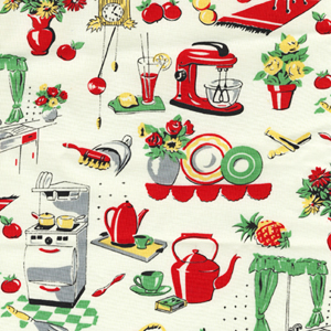 Sew Obsessed | Fat Quarter-Michael Miller's Fifties Kitchen/CX1595 ...