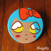 Doll Face Pin #3 Scout