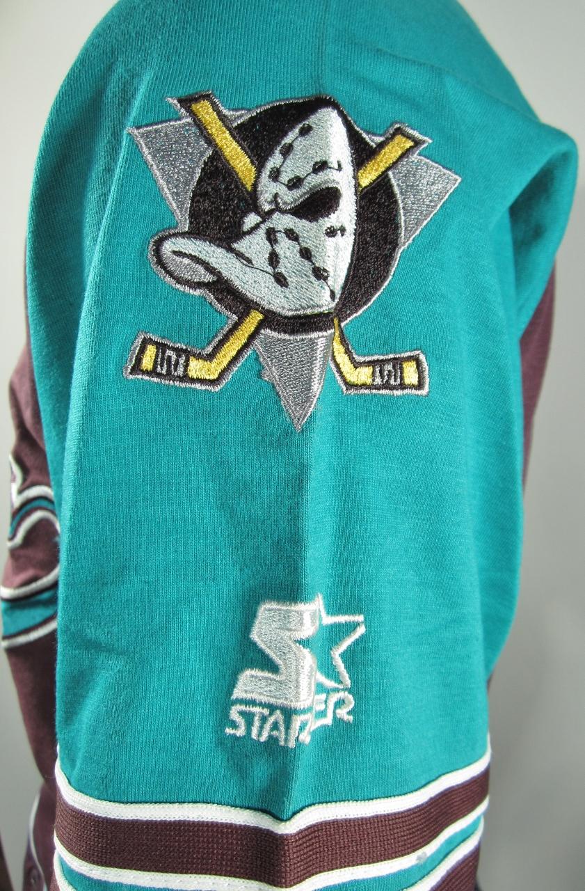 90s Anaheim Mighty Ducks Starter Baseball Jersey M NWT Rare - Thumbnail 1  ... 83da94b07