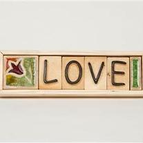 Love - Plaque