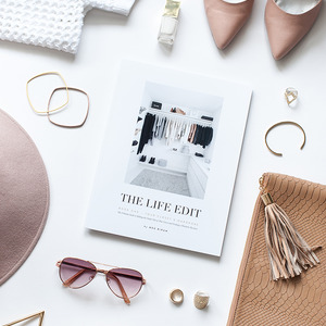 THE LIFE EDIT (physical & digital book)