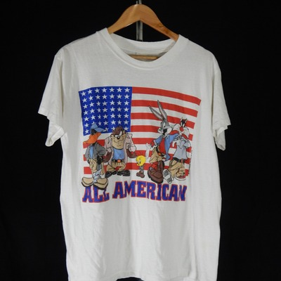 Vintage looney tunes all american shirt size medium/large