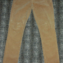 Tan Corduroy Skinny Pants (3)
