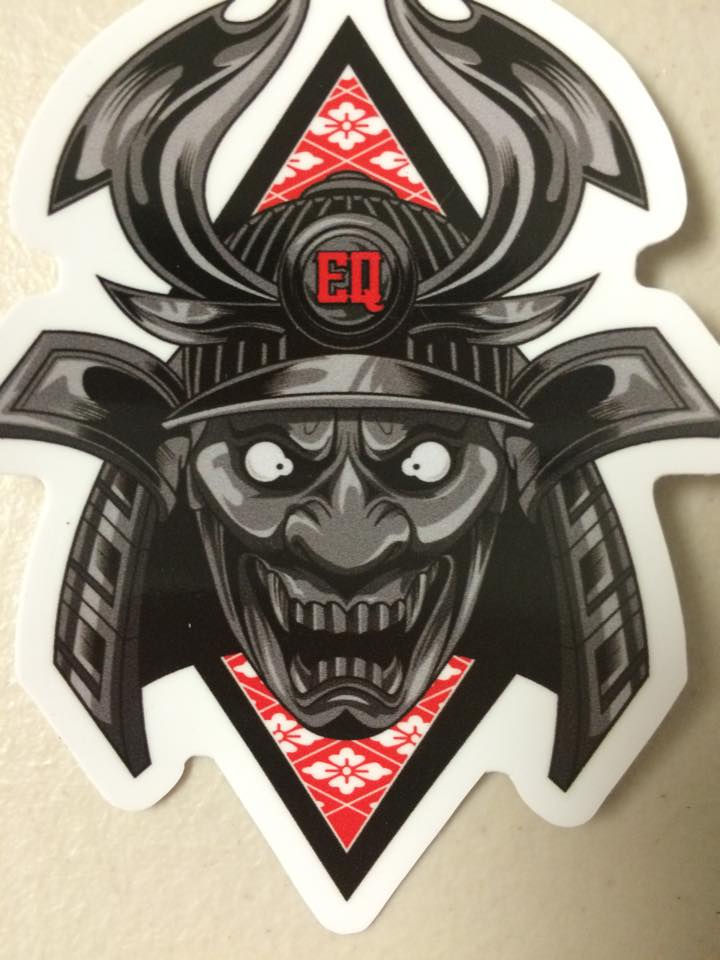 Hannya x samurai slap sticker thumbnail 1