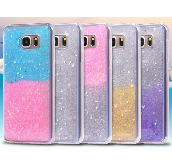 Galaxy Note 5 - Star-Dust Wishes Clear Case in Assorted Colors