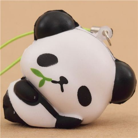 ojipan panda squishy bamboo on storenvy