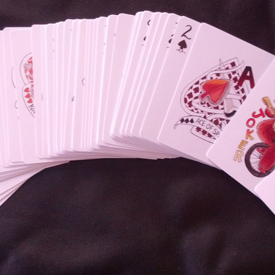 Suited~ playing card deck