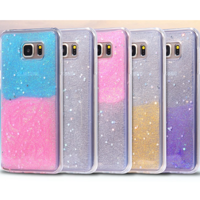Galaxy note 5 - stardust wishes clear case in assorted colors