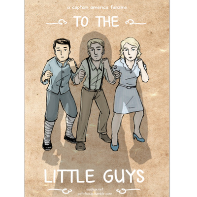 To the little guys: a captain america fanzine
