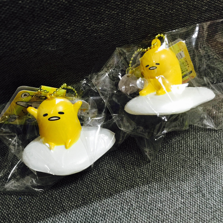 ~SquishyStuff~ Japan Licensed Gudetama Squishy Mascot Chain Online Store Powered by Storenvy