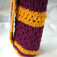 Custom Open Crochet Yoga Mat Bag - Thumbnail 3