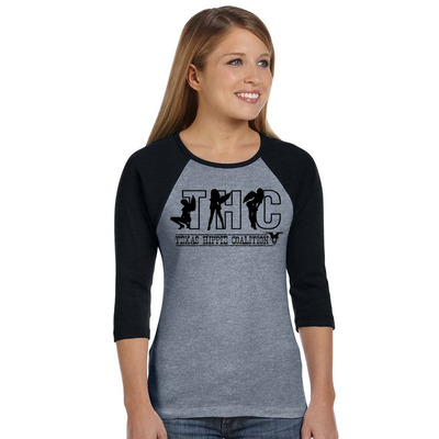 Angel girl's raglan shirt