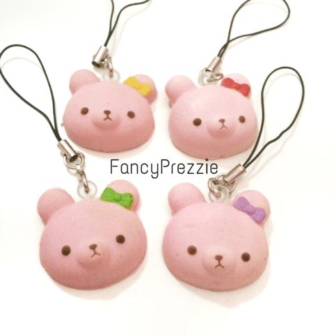 Squishy Bunny Slime Instagram : Mini Pink Rabbit Bunny Bow Squishy ? FancyPrezzie ? Online Store Powered by Storenvy